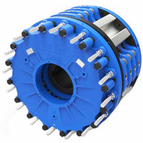 Disc brake / robust / water-cooled / tension control