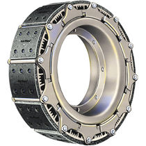 Friction clutch and brake / pneumatic