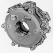 Multiple-disc brake / pneumatic / spring activated / water-cooled