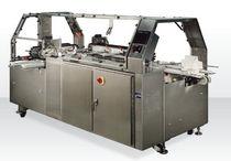 Three-flap carton sealer / automatic / high-speed / hot-melt glue