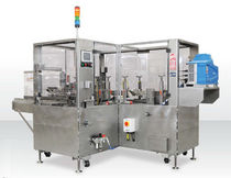 Three-flap carton sealer / hot-melt glue / automatic