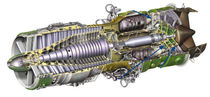 Gas turbine / aeroderivative / for power generation