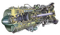 Gas turbine / aeroderivative / for power generation / mechanical drive