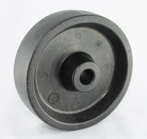 Wheel with solid tire / polyamide / heat-resistant