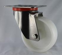 Swivel caster / base plate / monobloc / polyamide