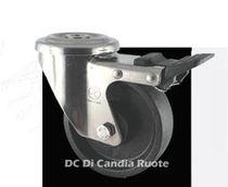 Monobloc wheel / synthetic fiber / heat-resistant