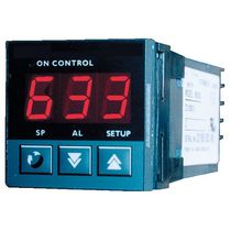 Digital temperature controller / thermoelectric / configurable / DIN rail