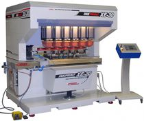 Pad printing machine with hermetic ink cup / electropneumatic / automatic
