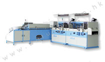Flat bed screen printing machine / multi-color / automatic