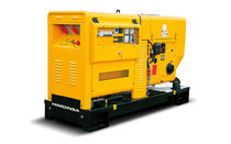 Diesel generator set / three-phase / 60 Hz / soundproofed
