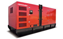 Diesel generator set / three-phase / 50 Hz / soundproofed