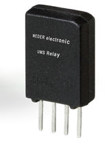 Power reed relay / miniature / for printed circuit boards / surface-mount