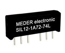 High-frequency reed relay / SIL