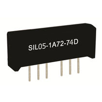 1 NO reed relay / high-frequency / SIL / DIP