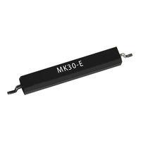 Reed magnetic sensor / SMD