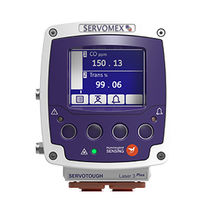 Oxygen analyzer / carbon monoxide / methane / flue gas