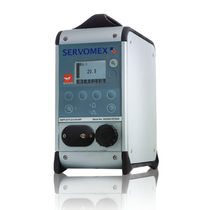 Oxygen analyzer / carbon dioxide / gas / concentration