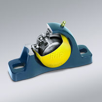 Flange bearing unit / self-aligning / spherical roller / cast iron