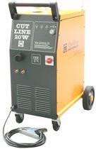 Plasma cutting plasma power source / for metal cutting / manual