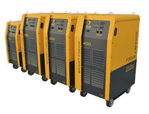 Automated plasma power source / for plasma cutting / for plasma cutters / for metal cutting