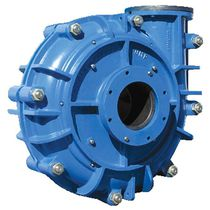 Wastewater pump / slurry / centrifugal / horizontal mount