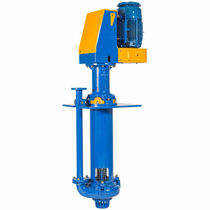 Slurry pump / electric / centrifugal / semi-submersible
