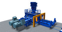 Roller mill / horizontal / for ore / high-pressure