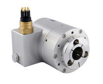 Incremental rotary encoder / magnetic / hollow-shaft / heavy-duty