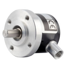Incremental rotary encoder / solid-shaft / industrial