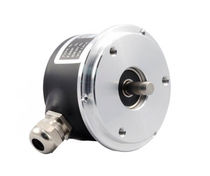 Incremental rotary encoder / solid-shaft / IP65