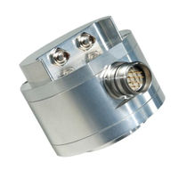Incremental rotary encoder / optical / hollow-shaft / heavy-duty