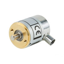 Incremental rotary encoder / solid-shaft / miniature
