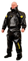 Arc protection coveralls / for welding