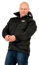 Cold weather jacket / waterproof / polyester