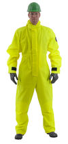 Chemical protection coveralls / anti-static / high-visibility / PVC