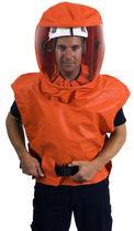 Chemical protection hood / PVC