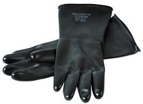 Laboratory gloves / chemical protection / rubber