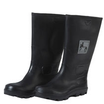 Fire-retardant safety boots / anti-static / nitrile rubber
