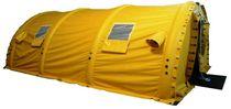 Retractable tent / mobile