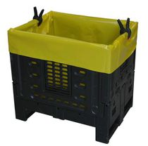 Plastic waste bin / industrial waste