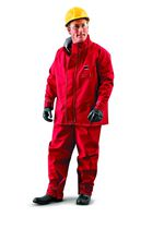 Chemical protection coveralls / polyester / breathable