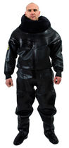 Chemical protection coveralls / waterproof / rubber