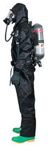 Chemical protection coveralls