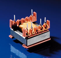 Electrical power supply transformer / encapsulated / flyback / open type