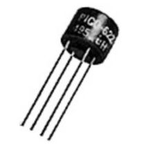 Shielded inductor / radial-lead / for electronics