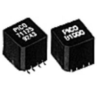 Planar transformer / SMD / single-phase / for electronics