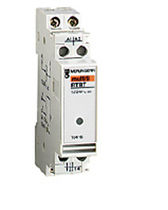 Solid-state relay / control / DIN rail / modular