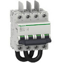 Short-circuit circuit breaker / modular / molded case / for photovoltaic applications