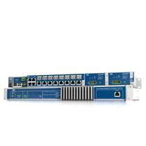 Managed ethernet switch / 24 ports / fiber optic / gigabit Ethernet