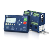 Arc flash monitoring relay / phase sequence / DIN rail / digital